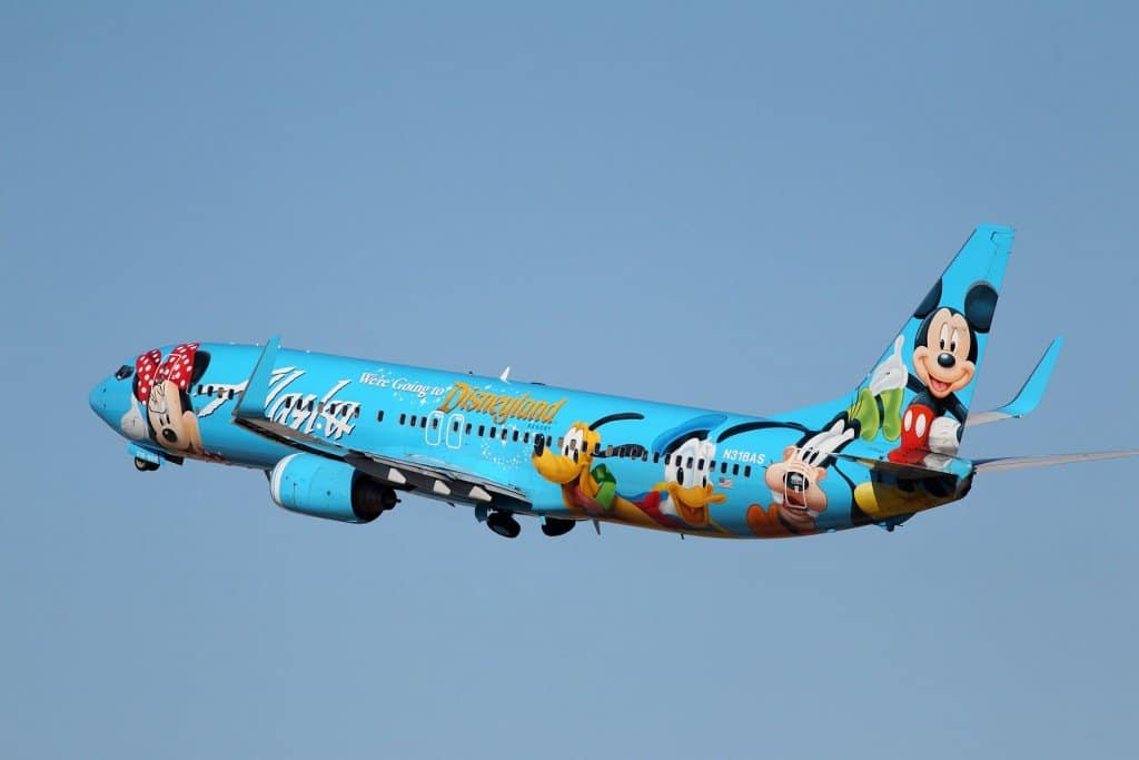 Alaska Airlines Spirit of Disneyland 737-400